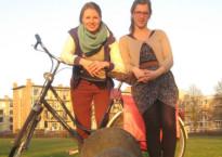 Sarah Vermij en Jetske Vaas