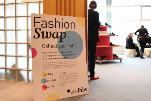 Ecofabs Fashion Party foto door André Blom