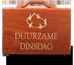 duurzame dinsdag koffertje