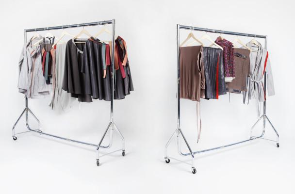 Garderobe in één koffer