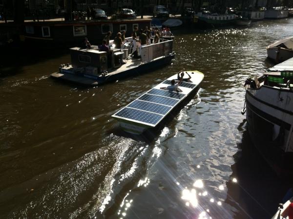 solar boat parade Amstserdam
