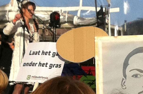 Marianne Minnesma, directeur Urgenda. organisator van Climate March 2014