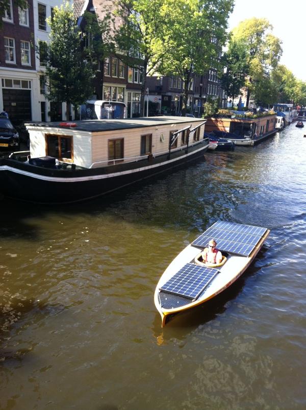 solar boat parade Amsterdam 2014