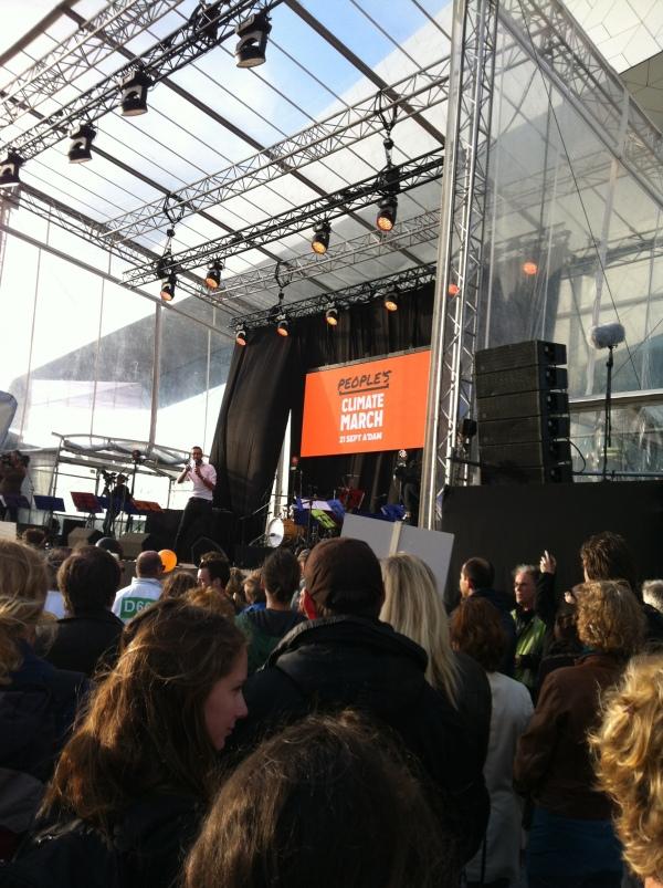 slotmanifestatie Climate March 2014 Amsterdam