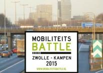 In de Mobiliteitsbattle: de spits mijden of rijden?
